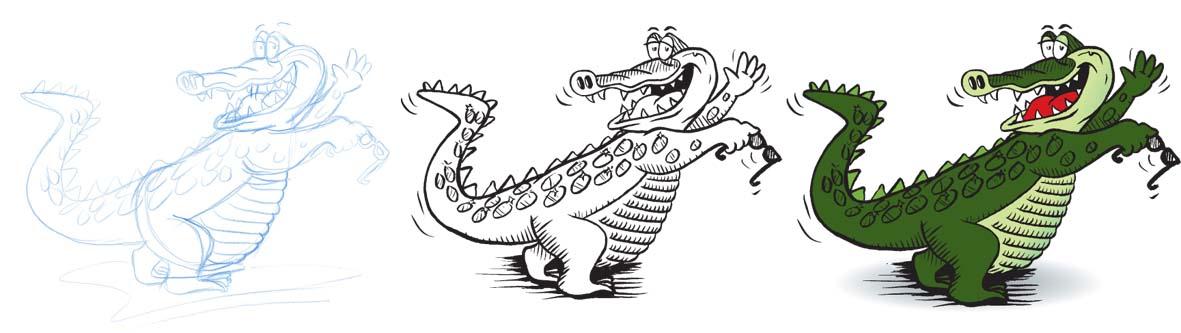 Croc strip